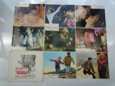TWO WEEKS IN SEPTEMBER (1967) - BRIGITTE BARDOT - Complete set of 8 x British Lobby Cards with