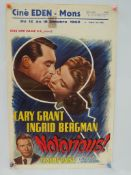 NOTORIOUS (1950's Release) - ALFRED HITCHCOCK - Be