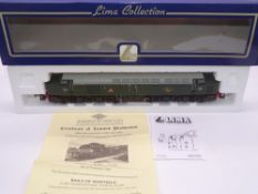 OO GAUGE - A Lima Class 40 diesel locomotive, D233 Empress of England, in BR green livery, #45 of