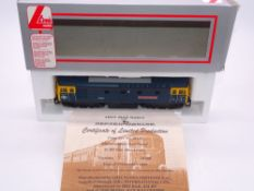 OO GAUGE - A Lima Class 33 diesel locomotive, 33116 Hertfordshire Rail Tours, in BR Blue livery, #