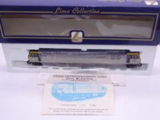 OO GAUGE - A Lima Class 92 electric locomotive, 92001 Victor Hugo, in Tunnel triple grey livery, #