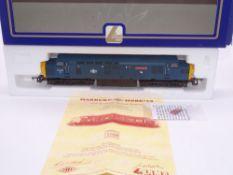 OO GAUGE - A Lima Class 37 diesel locomotive, 37043 Loch Lomond, in BR Blue livery w/plates, #26