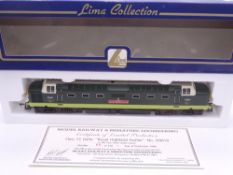 OO GAUGE - A Lima Class 55 Deltic diesel locomotive, D9019 Royal Highland Fusilier, in BR two tone