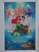 THE LITTLE MERMAID (1989) - WITHDRAWN POSTER - INDIVIDUALLY NUMBERED - UK One Sheet Film Poster (27""
