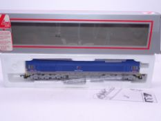 OO GAUGE - A Lima Class 59 diesel locomotive, 59201 Vale of York, in National Power livery. E in