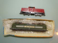 HO GAUGE - A Roco BR151 electric loco (part boxed)