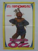 """RETURN TO OZ (1985) - SCARECROW/ TIN MAN/ JACK PUMPKINHEAD - 3 x UK Double Crown Film Posters (20"""" x"""
