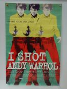 I SHOT ANDY WARHOL (1996) - British Double Crown -