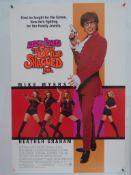 "AUSTIN POWERS: THE SPY WHO SHAGGED ME (1999) - US One Sheet - MIKE MYERS - HEATHER GRAHAM - 27"" x"