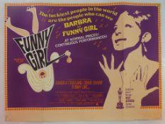 FUNNY GIRL (1968) - British UK Quad film poster -