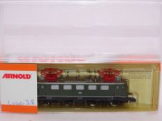 N GAUGE - An Arnold German E 41 electric locomotiv
