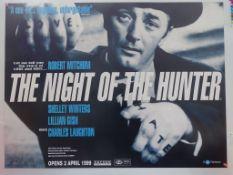 NIGHT OF THE HUNTER (1999 BFI Release) - British U