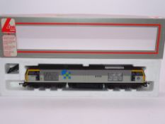 OO GAUGE - A Lima Class 60 diesel locomotive, 60001 Steadfast, in Construction sector livery. VG