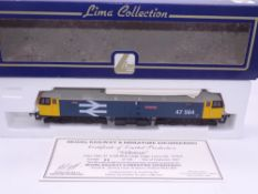 OO GAUGE - A Lima Class 47 diesel locomotive, 47564 Colossus, in Large Logo blue livery, #66 of
