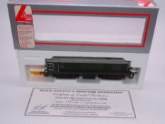 OO GAUGE - A Lima Class 20 diesel locomotive, D8040, in BR Green livery, #108 of 475 (MRE) E in VG