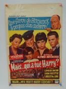 THE TROUBLE WITH HARRY (1955) FIRST RELEASE - ALFR