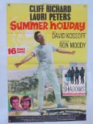 "SUMMER HOLIDAY (1963) - Cliff Richard - UK/International One Sheet Movie Poster - (27"" x 41"" - 68."