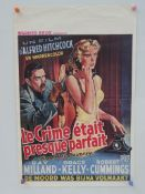 DIAL M FOR MURDER (Later Release) - ALFRED HITCHC