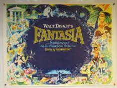 FANTASIA (1968 Release) - UK Quad Film Poster - 30