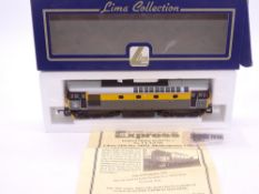 OO GAUGE - A Lima Class 33 diesel locomotive, 33051 Shakespeare Cliff, in Dutch livery w/plates, #