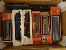 OO GAUGE - A tray of locomotives by Lima, Mainline, Hornby etc for spares or repair. (8) Generally