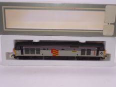 OO GAUGE - A Lima Class 50 diesel locomotive, 50149 Defiance, in General sector livery. VG in G box