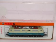 N GAUGE - An Arnold German BR 111 electric locomot