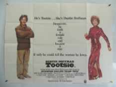 "TOOTSIE (1981) - UK Quad Film Poster - 30"" x 40"" (76 x 101.5 cm) - Folded (as issued) - Very Fine"