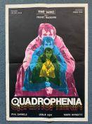 "QUADROPHENIA (1979) - Yugoslavian One Sheet film poster - 19.5"" x 27.5"" (49.5 x 70 cm) - Folded ("