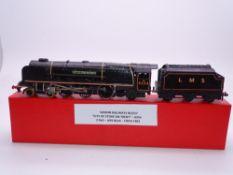 OO GAUGE - A Wrenn W2227 Duchess class steam locomotive City of Stoke on Trent in LMS black