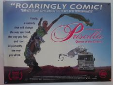 BRITISH UK QUAD LOT (6 in Lot) - British UK Quad film posters to include PRISCILLA QUEEN OF THE