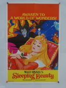 SLEEPING BEAUTY (1970's Release) - British Double Crown - Classic WALT DISNEY animated adventure -