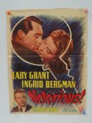 NOTORIOUS (1940's Release) - ALFRED HITCHCOCK - Be