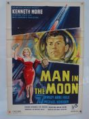 """THE MAN IN THE MOON (1960) British One Sheet Film Poster (27"""" x 40"""" – 68.5 x 101.5 cm) - Good / Very"""