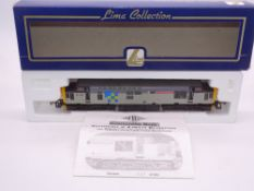 OO GAUGE - A Lima Class 37 diesel locomotive, 37425 Concrete Bob, in Trainload sector livery, #547