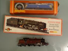 OO GAUGE - A trio of steam and electric locos to include Evening Star as lotted. G in F-G boxes