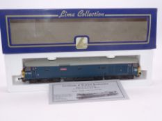 OO GAUGE - A Lima Class 50 diesel locomotive, 50019 Ramilies, in Departmental Blue, #525 of 600 (