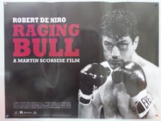 RAGING BULL (2007 - Park Circus) - British UK Quad - Park Circus limited showing re-release of