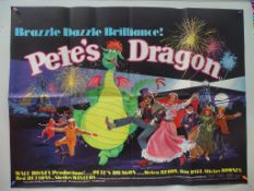"PETE'S DRAGON (1977) - FIRST RELEASE - UK Quad Film Poster - 30"" x 40"" (76 x 101.5 cm) - Folded ("