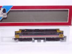 OO GAUGE - A Lima Class 87 electric locomotive, 87012 Coeur de Lion, in Intercity/Mainline livery.