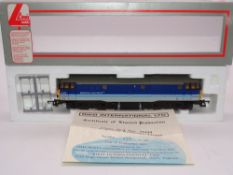 OO GAUGE - A Lima Class 31 diesel locomotive, 31439, in Regional Railways livery, #423 of 850 (Riko)