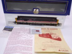 OO GAUGE - A Lima Class 37 diesel locomotive, 37424 Isle of Mull, in Mainline livery, w/plates, #234
