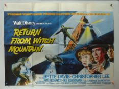WALT DISNEY LOT to include RETURN FROM WITCH MOUNTAIN (1978) & ESCAPE TO WITCH MOUNTAIN (1975) -