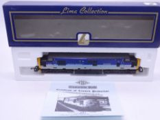 OO GAUGE - A Lima Class 37 diesel locomotive, 37425 Concrete Bob, in Regional Railways livery, #