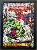 SPIDERMAN #119 Spidey vs the Hulk - Limited Editio