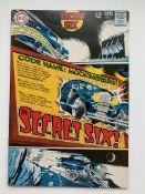 SECRET SIX #1 (1968 - DC) FN/VFN (Cents Copy) - Or