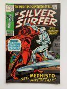 SILVER SURFER #16 (1970 - MARVEL - Pence Copy - G/