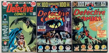 DETECTIVE COMICS: BATMAN LOT #429, 439, 442 (3 in