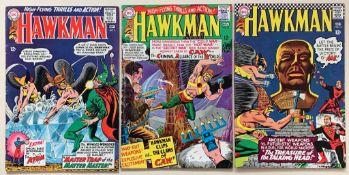 HAWKMAN #9, 10, 14 (3 in Lot) - (1965/66 - DC - Ce