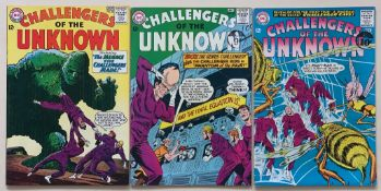 CHALLENGERS OF THE UNKNOWN LOT #38, 39, 40 (3 in L